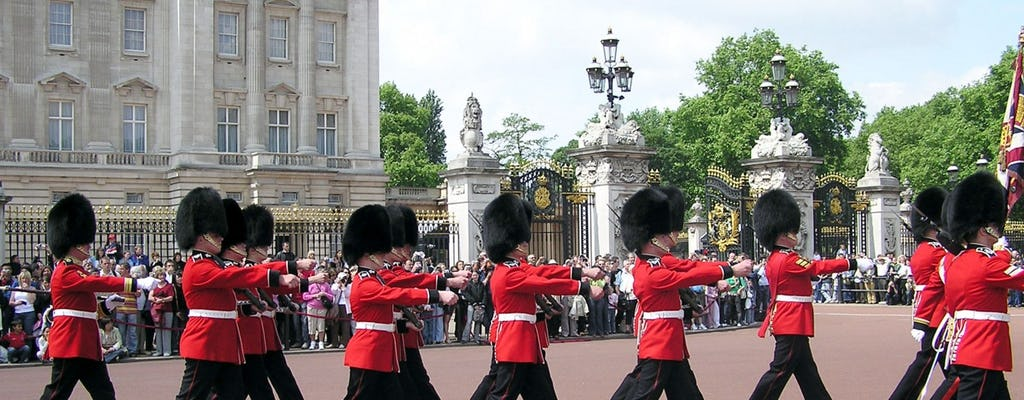Half day tour of London with St Paul's Cathedral and Changing of the Guard