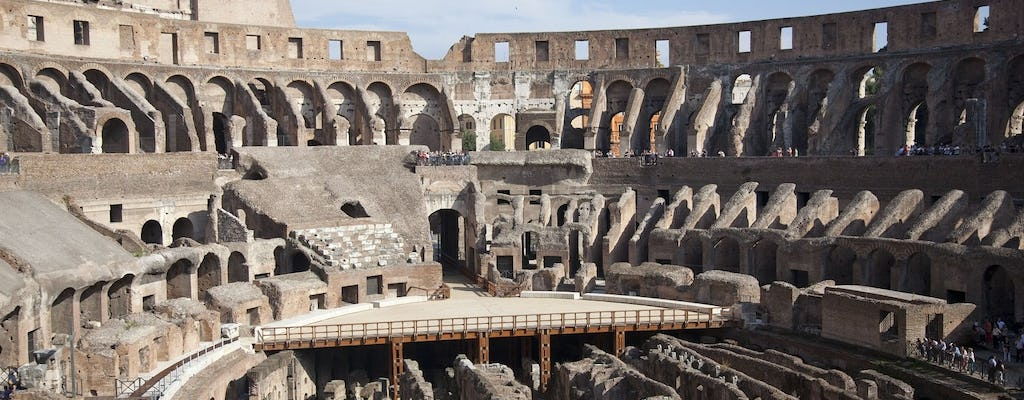 Private Colosseum tour with Arena Floor, Roman Forum and Palatine Hill