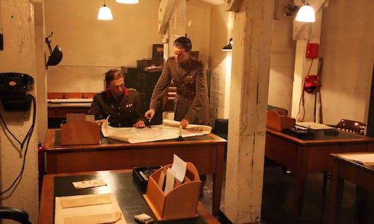 Tour a pé pelos segredos da Segunda Guerra Mundial em Westminster, no museu e nas salas de guerra de Churchill