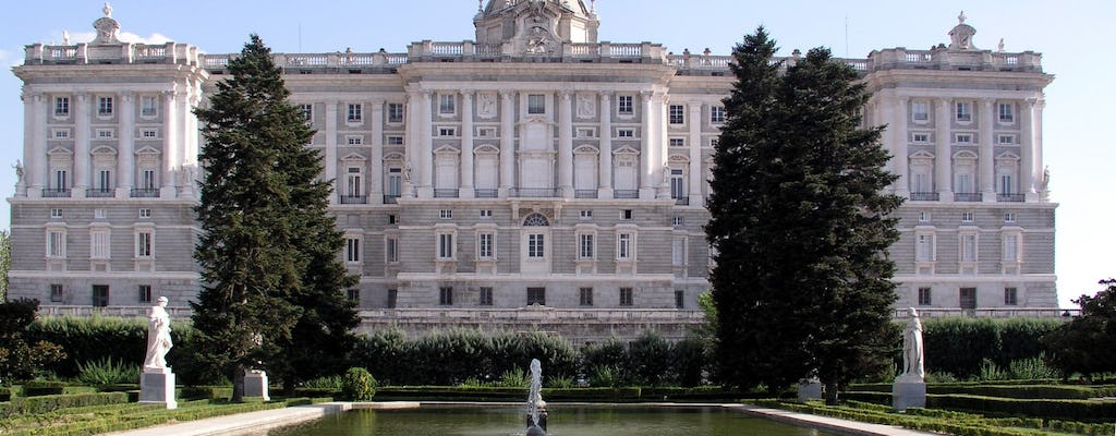 Madrid highlights with entrance and guided tour to the Royal Palace