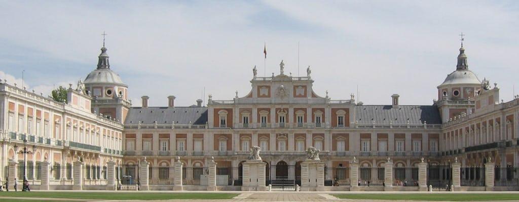 Visita a Toledo y el Palacio Real de Aranjuez