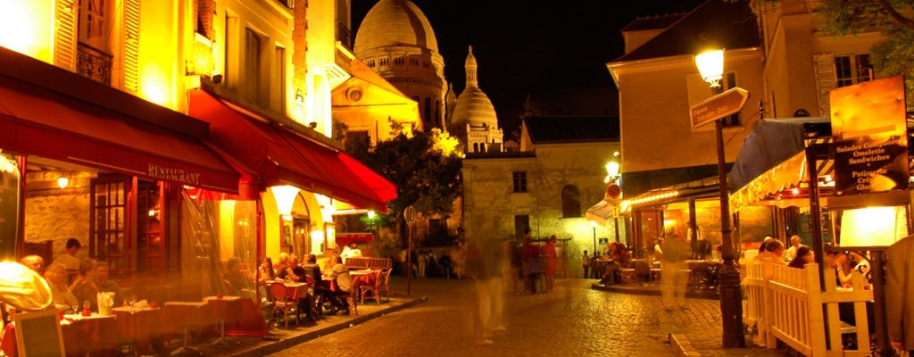 Musical dinner in Montmartre with return transfer