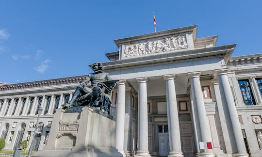 Entrance tickets to the Prado Museum