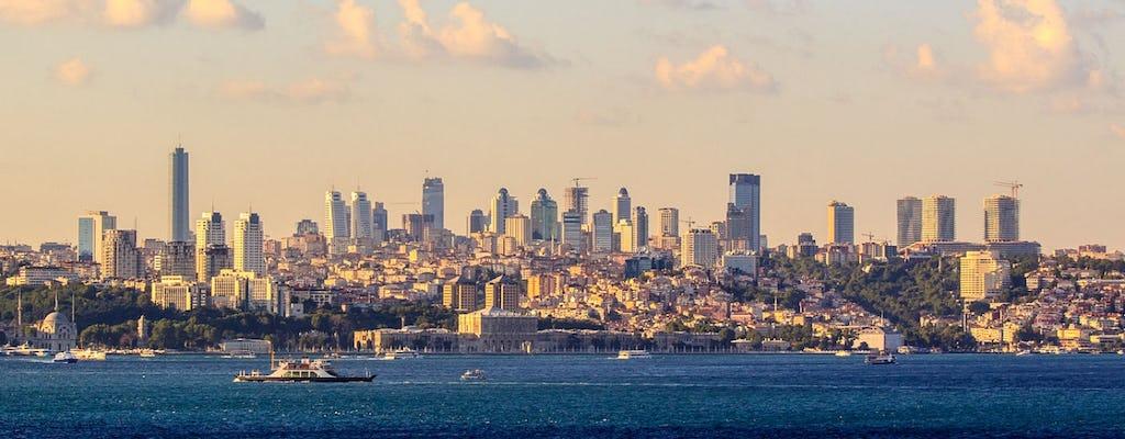 Cruzeiro de Istambul e Bósforo em barco privado - Half Day Morning Tour