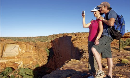 Panoramas Kings Canyon e Outback