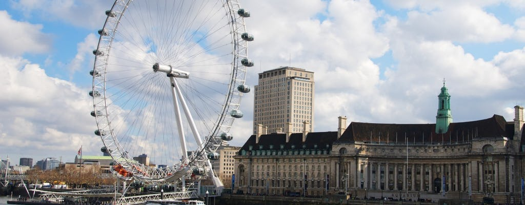 London Eye fast-track tickets and 4D cinema experience