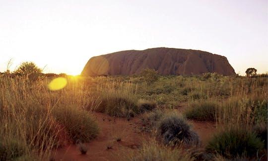 Uluru Sacred Sites and Sunset