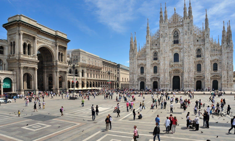 Ver la ciudad,Ver la ciudad,Tours andando,Catedral del Duomo,Teatro La Scala