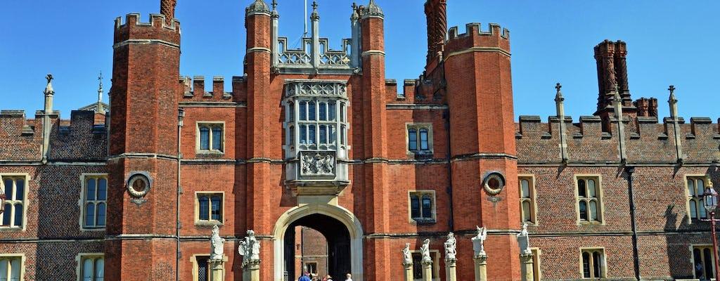 Hampton Court Palace kaartjes met tuinen en doolhof