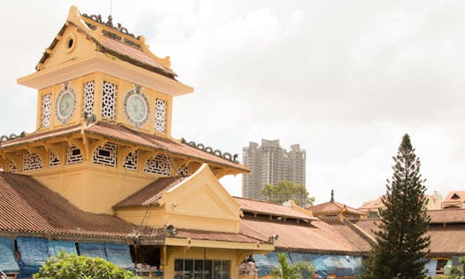 Ho Chi Minh City Tour: Discover China Town by Cyclo