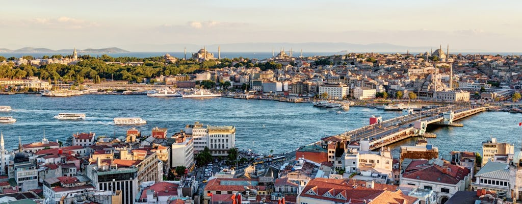 Istanbul and Bosphorus cruise on private boat - Half Day Afternoon Tour