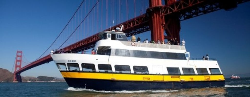 Crucero por la bahía y recorrido en autobús turístico de 48 horas en San Francisco