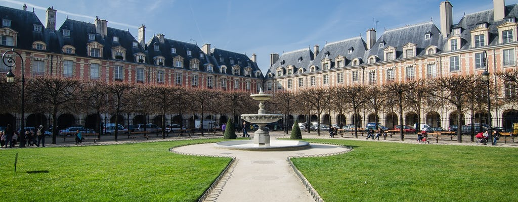 Culture and gastronomy tour in the Marais
