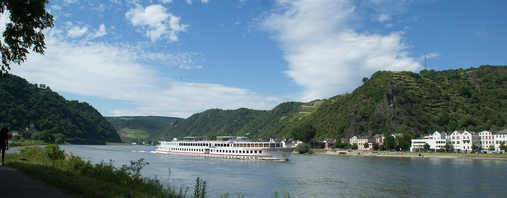 Rhine River Valley half-day tour from Frankfurt