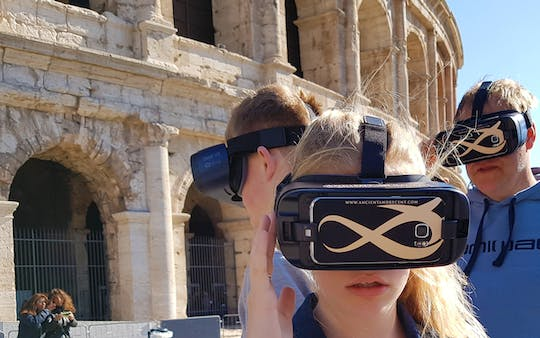 Colosseum guided tour with virtual reality experience