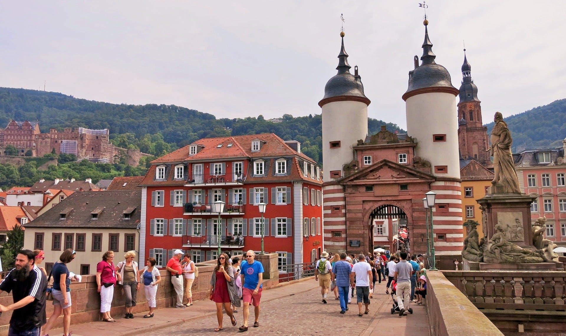 Ver la ciudad,Excursión a Heidelberg