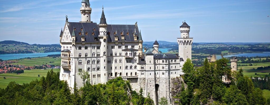 Il castello di Neuschwanstein e il tour di Rothenburg da Francoforte