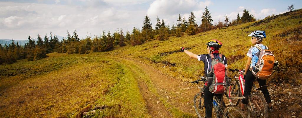 Mountainbike en Vermont brouwerijtour