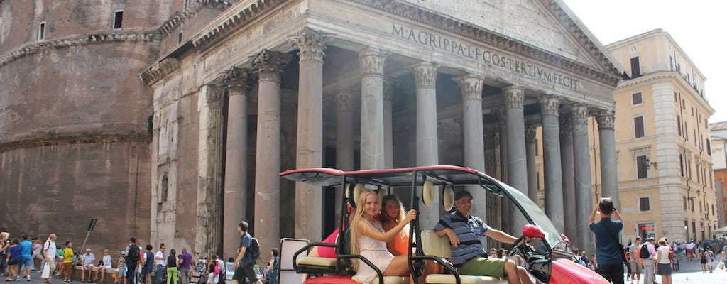 Rome by Golf-Cart Tour
