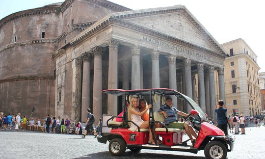 Colinas romanas antigas por Golf-Cart Tour