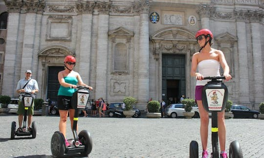 Ancient Rome self-balancing scooter Tour