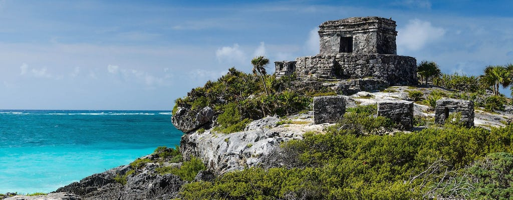 Tulum by land and sea guided excursion