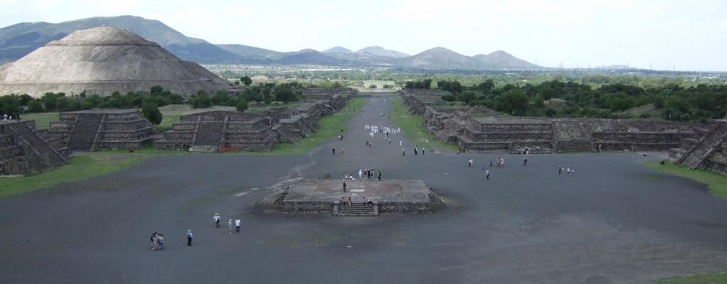 Primo tour di Teotihuacan