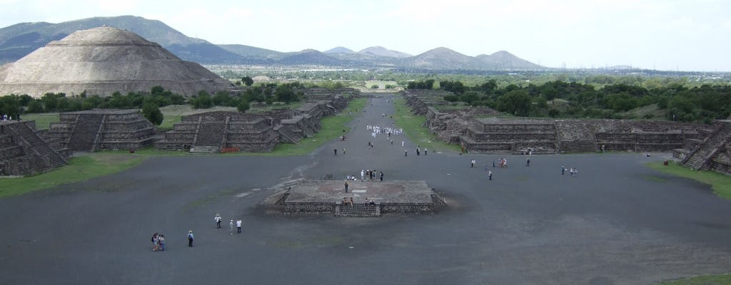 Excursão antecipada a Teotihuacan