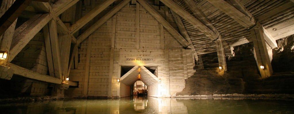 Wycieczka do kopalni soli w Wieliczce