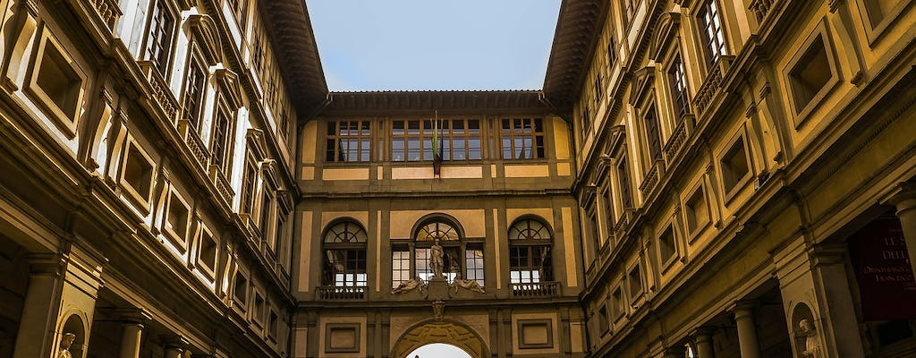 Florence guided day tour with Uffizi skip-the-line tickets
