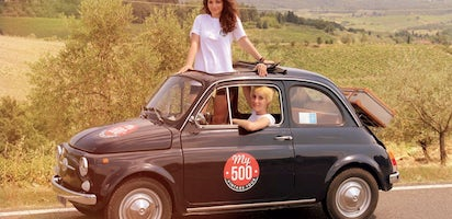 Vintage Tour On A Fiat 500 In The Chianti Area With Lunch And Visit To Winery Mut