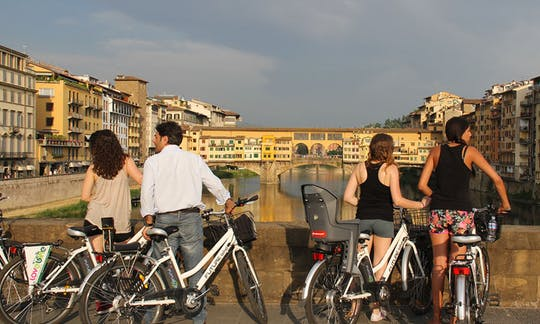 Passeio elétrico em bicicleta de Florença