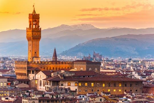 Całodniowa wycieczka z przewodnikiem po Florencji z biletami wstępu bez kolejki do Galerii Akademii