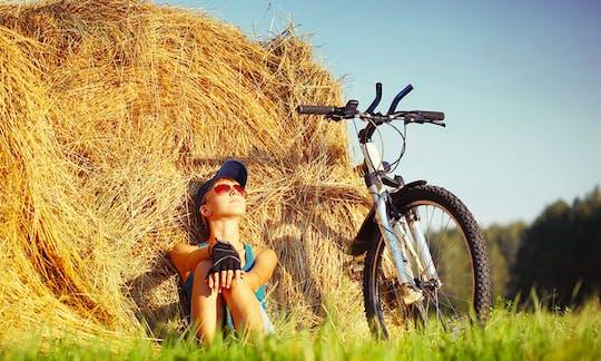 Passeio de bicicleta elétrica com degustação de vinhos na região de Chianti
