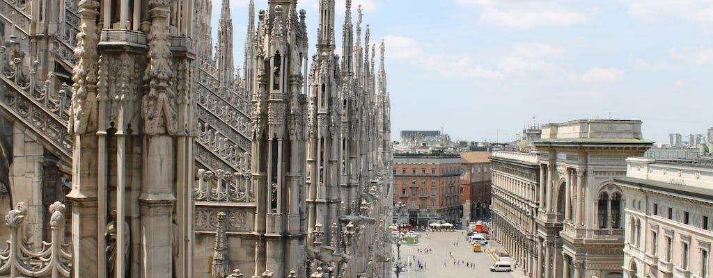 Guided tour of the Duomo Cathedral with rooftop terraces