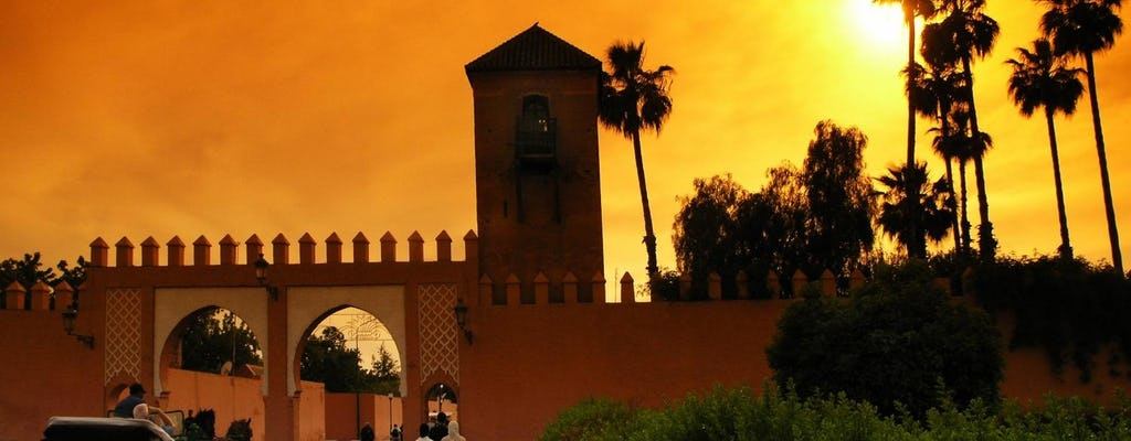 1001 Nights dinner show in Marrakech