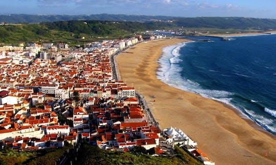 Santuário de Fátima, Óbidos, Mosteiro de Batalha e Alcobaça e visita guiada à Nazaré