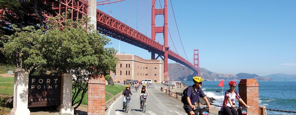 Мост Золотые Ворота экскурсия на велосипеде