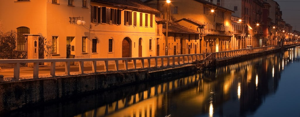 Navigli Canals of Milan private walking tour with a local guide
