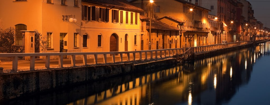 Visita guiada privada a pie por los canales Navigli de Milán con un guía local