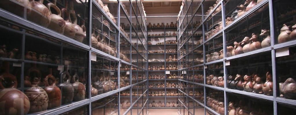 Muzeum Larco, wizyta w starej tawernie i pokazie Magicznej Wody