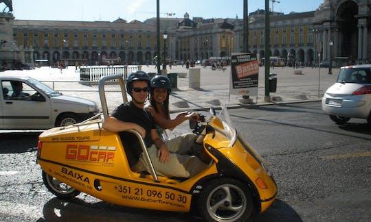 Visita combinada de dos días por Lisboa en bus turístico y GoCar