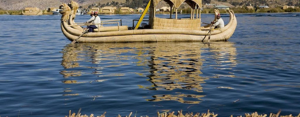 Puno - Uros Reef Floating Islands i Taquile Island Tour