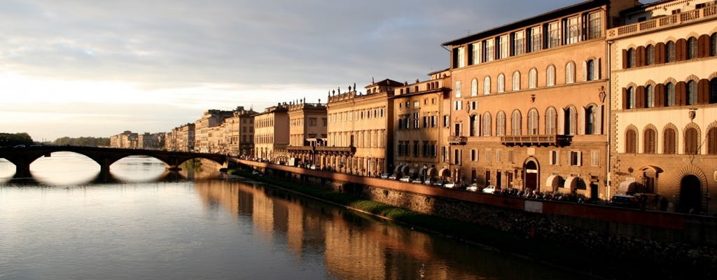 Wycieczka piesza po Florencji z degustacją wina o zachodzie słońca