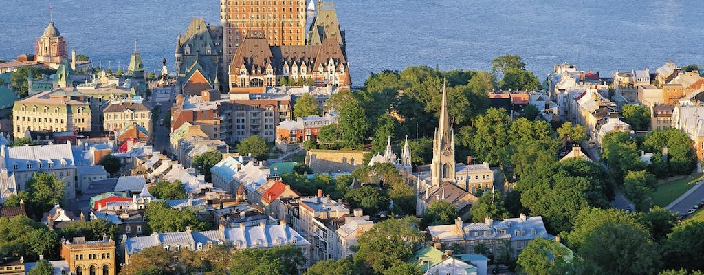 1-day tour of Quebec City and Montmorency Falls