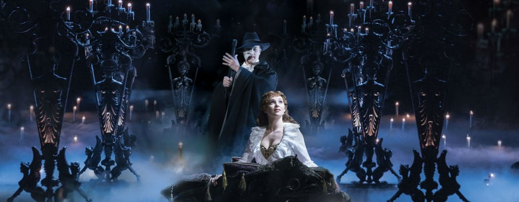 Tickets to the Phantom of the Opera Musical in London