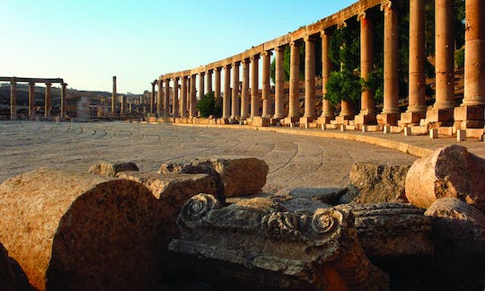 Amman city tour with visit to the ancient city of Jerash