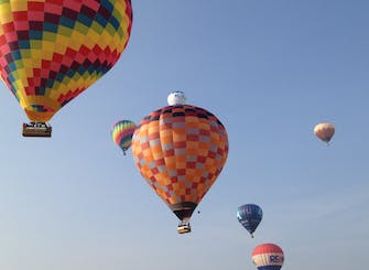 Balloon Flight Experience near Milan