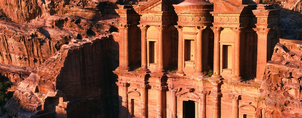 Full day guided tour of Petra