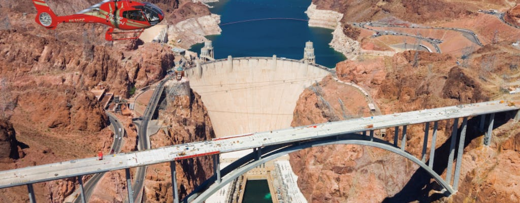 Hoover Dam Guided Tour with Lunch, Transportation & Helicopter Flight